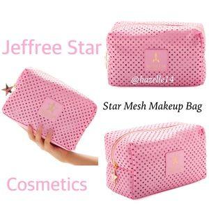 """Jeffree Star Makeup Bag """"Star Mesh"""""""